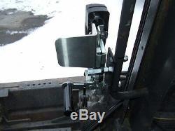 1/2 New holland LX 565 to LX 985 Skid steer Poly Mower Mulcher Lexan Door+sides