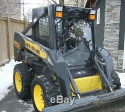 1/2 New holland LX665 to LX865 Skid Steer door and sides. Aftermarket Cab + Door