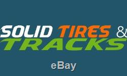 12-16.5 12x16.5 Mclaren Solid Skid Steer Tires 4 + rims 33x12-20 for Bobcat, Case