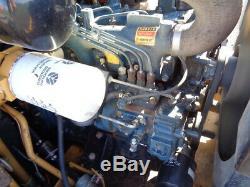 1989 New Holland L553 Skid Steer, OROPS, Sticks/Pedals, Kubota Diesel
