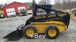 1999 New Holland Lx885 Skid Steer Very Low Hours Very Nice! Ready To Work