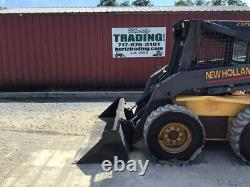2002 New Holland LS180 Skid Steer Loader with 2 Speed & Weight Kit CHEAP