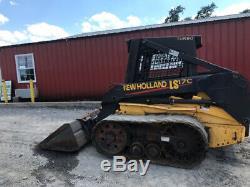 2003 New Holland LS170 Track Skid Steer Loader Only 1400 Hours