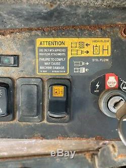 2006 New Holland L170 Enclosed Cab Heat High Flow Skid Steer Loader