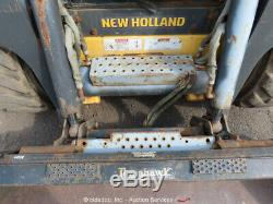 2011 New Holland L225 Skid Steer Wheel Loader Aux Hyd 2-Spd Cab bidadoo