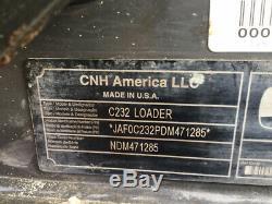 2015 New Holland C232 Track Skid Steer Loader Cab 2 Spd Joystick High Flow 100Hr