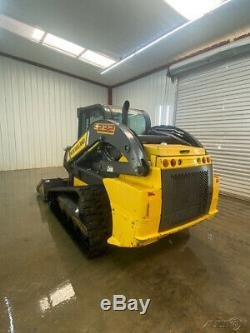 2016 New Holland C232 Skid Steer Track Loader With A/c And Heat