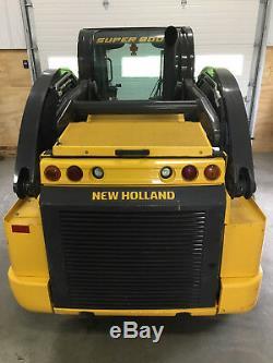 2017 New Holland C238 Compact Track Skid Steer Loader