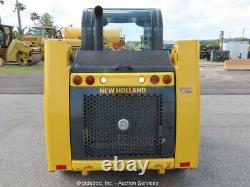 2018 New Holland L216 Skid Steer Wheel Loader Canopy Aux Hyd Radial Lift bidadoo