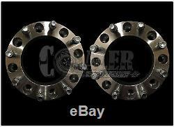 2pc 2 Skid Steer Wheel Spacers for 8 Lug Bobcat Case CAT John Deere New Holland