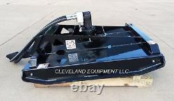 36 Hd Brush Cutter Mower Mini Skid Steer Loader Attachment 3 Blades 4 Cut