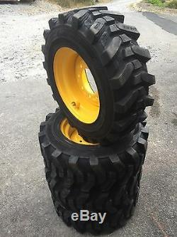 4-10-16.5 HD Skid Steer Tires Camso SKS532-10X16.5 New Holland LX565. LX665
