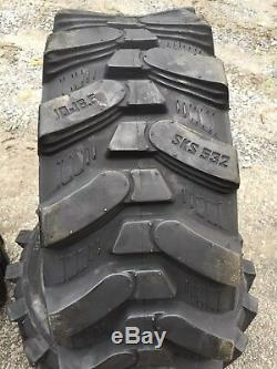 4 NEW 10-16.5 Camso SKS 532 skid steer tires For Bobcat, CAT, John Deere & more