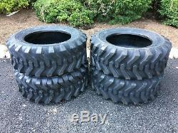 4 NEW 10-16.5 Skid Steer Tires Camso sks332 For Case, New Holland & more