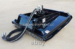 42 Hd Brush Cutter Mower Mini Skid Steer Loader Attachment 3 Blades 4 Cut