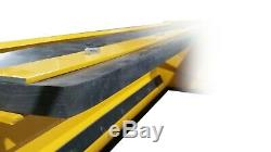 6' Falcon Snow Pusher for Skid Steer or Tractor