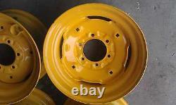 6 lug Skid Steer wheel/rim for New Holland fits L555, LX465, LX485, LS140, LS150