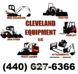 60 LOW PROFILE TOOTH BUCKET Skid-Steer Loader Tractor Attachment Teeth Bobcat