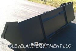 72 BULK MATERIAL BUCKET Snow Mulch Litter Skid-Steer Tractor New Holland Kubota