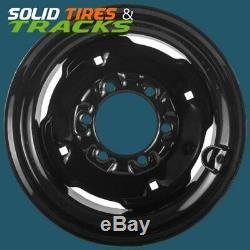 8.25x16.5 Skid Steer Wheel/Rims(2) 6 Lug For 10x16.5 Gehl, Mustang, New Holland