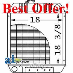 86563887 Radiator for Ford New Holland Skid Steer Loader L465 L565 LS140 LX565