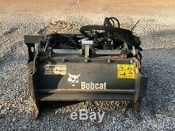Bobcat 40-inch cold planer (mill) skid steer attachment for asphalt or concrete