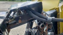 Bobcat Brand Snow V-Blade-96 hydraulic-snowplow, Skid steer, Toolcat, Excellent