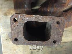 Exhaust manifold fits LS180 LX865 LX885 skid steer, NEW, OEM 87802796 87801363