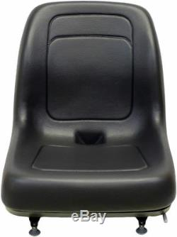Ford New Holland Black Skid Steer Seat Fits C175 C185 C190 C227 C232 and C238