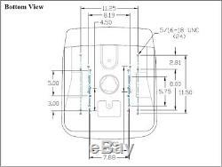 Ford New Holland Black Skid Steer Seat Fits LS120 LS125 LS140 LS150 LS160 etc