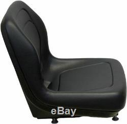 Ford New Holland Black Skid Steer Seat Fits LX465 LX485 LX565 LX665 LX865 etc