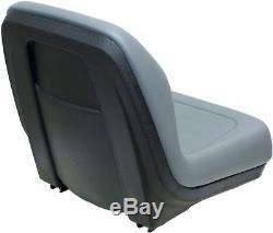 Ford New Holland Gray Skid Steer Seat Fits LX465 LX485 LX565 LX665 LX865 etc