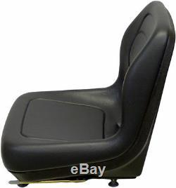 Ford New Holland Skid Steer Seat Blk Fits Lx465, Lx485, Lx565, Lx665, Lx865 #qj
