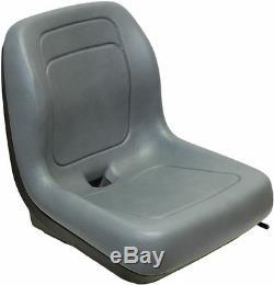 Ford New Holland Skid Steer Seat Gray Fits Ls120, Ls125, Ls140, Ls150, Ls160 #qi