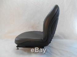 Gray Seat Bobcat, Ford, New Holland, Case, John Deere, Gehl Skid Steer Loaders #orai