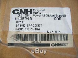 IH Case CNH New Holland OEM NOS Drive Sprocket Part # H435243 1840 Skid Steer 1