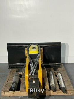 Mower King SSHH750 Hydraulic Hammer For Skid Steer Attachment