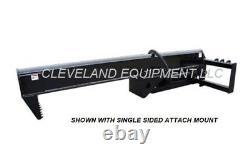 NEW 35 TON INVERTED LOG WOOD SPLITTER ATTACHMENT Kubota Skid Steer Track Loader