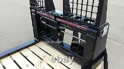 NEW 48 HYDRAULIC PALLET FORKS & FRAME ATTACHMENT Skid Steer Loader Caterpillar