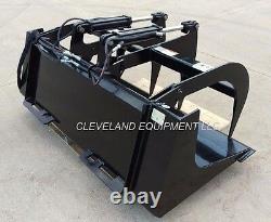 NEW 60 LD GRAPPLE BUCKET ATTACHMENT Skid-Steer Loader New Holland John Deere 5