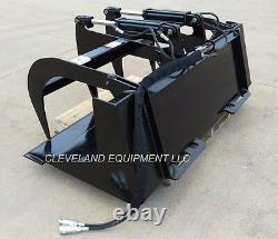 NEW 60 LD GRAPPLE BUCKET ATTACHMENT Skid-Steer Loader Tractor Claw Bobcat 5