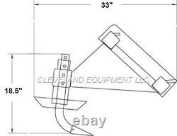 NEW 72 RIPPER SCARIFIER ATTACHMENT Skid Steer Track Loader Tiller Cultivator 6