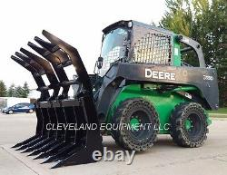 NEW 84 SEVERE-DUTY VERTICAL ROOT GRAPPLE RAKE ATTACHMENT for Skid-Steer Loader