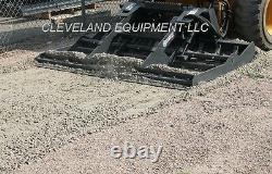 NEW 84 VIRNIG LAND LEVELER ATTACHMENT Skid Steer Track Loader Land Sculptor
