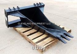NEW BD SEVERE-DUTY XL STUMP BUCKET ATTACHMENT Bobcat Skid-Steer Track Loader