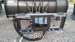 NEW HD 8', 96 SNOW PLOW SKID STEER LOADER, bobcat, case holland Tractors-mahindra