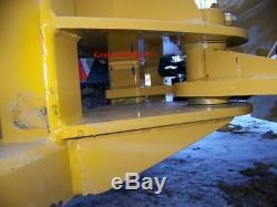 NEW HD 84 7 SNOWPLOW SKID STEER LOADER, snow plow bobcat, Tractor kubota holland