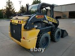 NEW HOLLAND L220 SKID STEER LOADER with 66 BUCKET SUPER BOOM NEW / UNUSED AUX