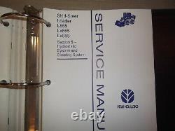 NEW HOLLAND L865 Lx865 Lx885 SKID STEER LOADER SERVICE SHOP REPAIR MANUAL