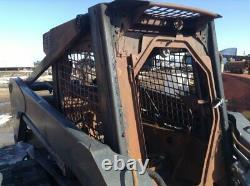 NEW HOLLAND LT185 Skid Steer Shell Cab/ROPS, OEM# 87034677, Fire Damage